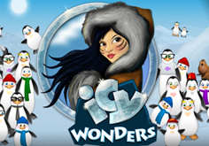 Icy Wonders Pokie Logo