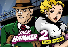 Jack Hammer 2 8211 Fishy Business Pokie Logo