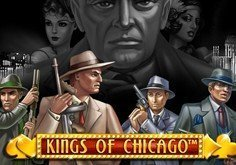 Kings Of Chicago Pokie Logo