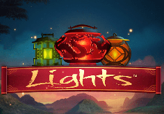 Lights Pokie Logo