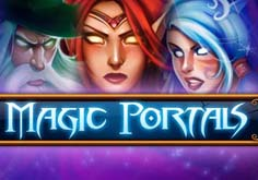 Magic Portals Pokie Logo