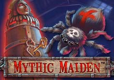 Mythic Maiden Pokie Logo