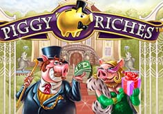 Piggy Riches Pokie Logo
