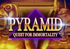 Pyramid Quest For Immortality Pokie Logo
