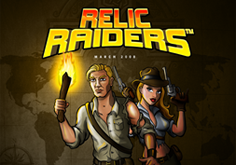 Relic Raiders Pokie Logo