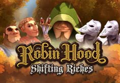 Robin Hood 8211 Shifting Riches Pokie Logo