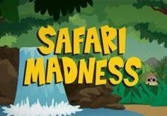 Safari Madness Pokie Logo