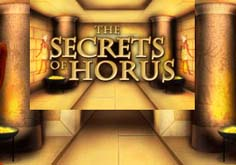 Secrets Of Horus Pokie Logo