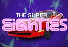 Super Eighties Pokie Logo