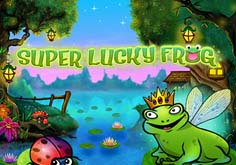Super Lucky Frog Pokie Logo