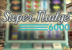 Super Nudge 6000 Pokie Logo