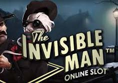 The Invisible Man Pokie Logo