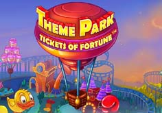 Theme Park 8211 Tickets Of Fortune Pokie Logo