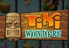 Tiki Wonders Pokie Logo