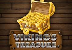 Viking 8217s Treasure Pokie Logo