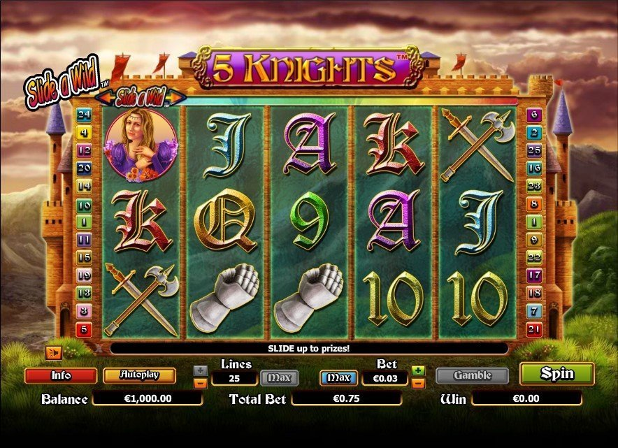 5 Knights Pokie