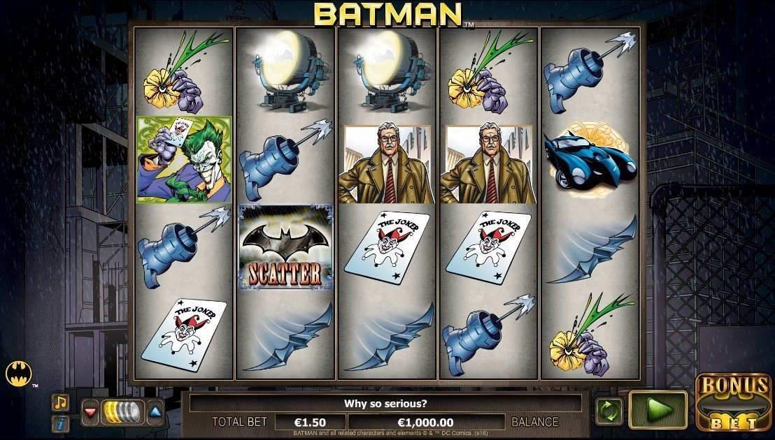 Batman Pokie