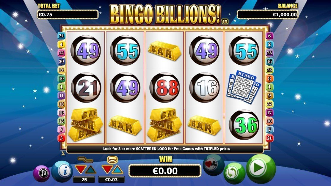 Bingo Billions Pokie
