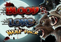 Blood Lore Wolf Pack Pokie Logo