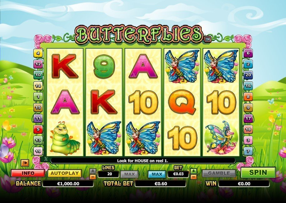 Butterflies Pokie