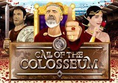 Call Of The Colosseum Pokie Logo