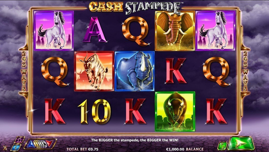 Cash Stampede Pokie
