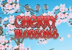 Cherry Blossoms Pokie Logo
