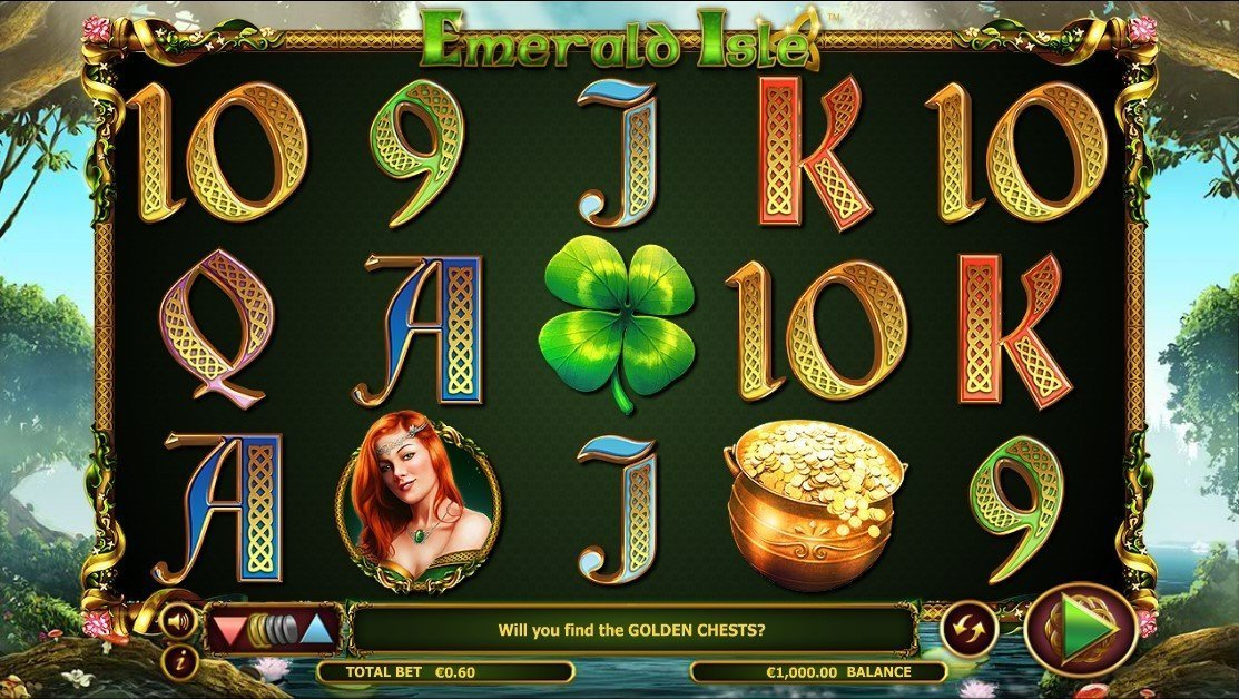 Emerald Isle Pokie