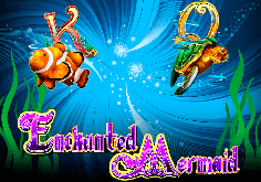 Enchanted Mermaid Pokie Logo