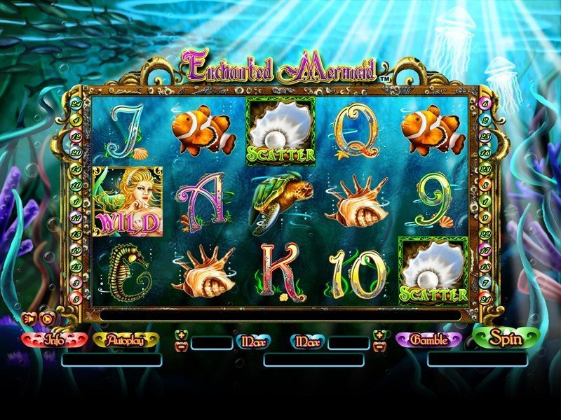 Enchanted Mermaid Pokie