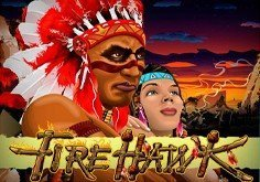 Fire Hawk Pokie Logo