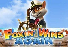 Foxin Wins Again Pokie Logo