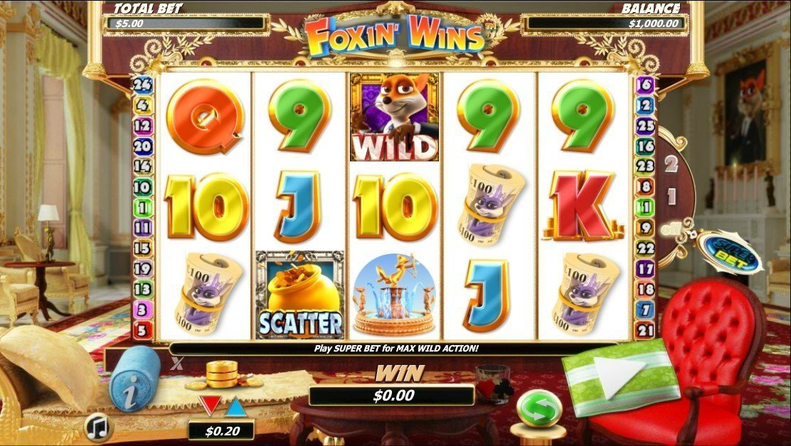Foxin Wins Pokie