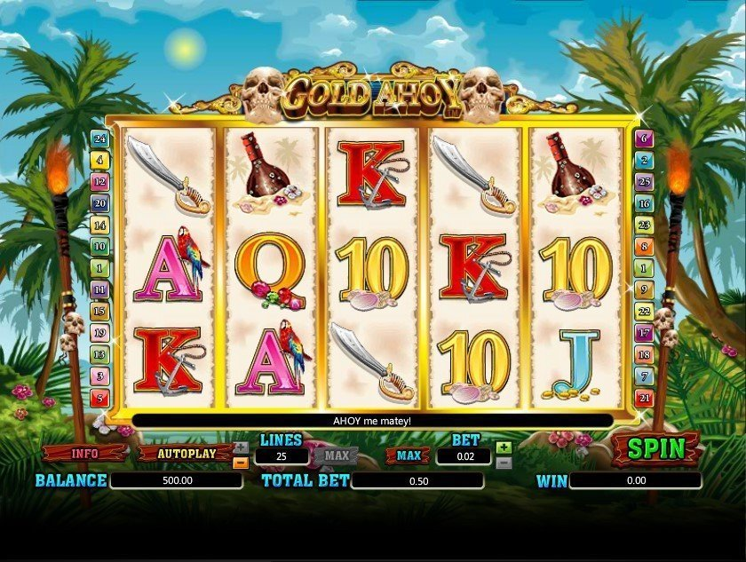 Gold Ahoy Pokie