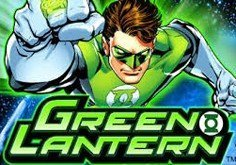 Green Lantern Pokie Logo