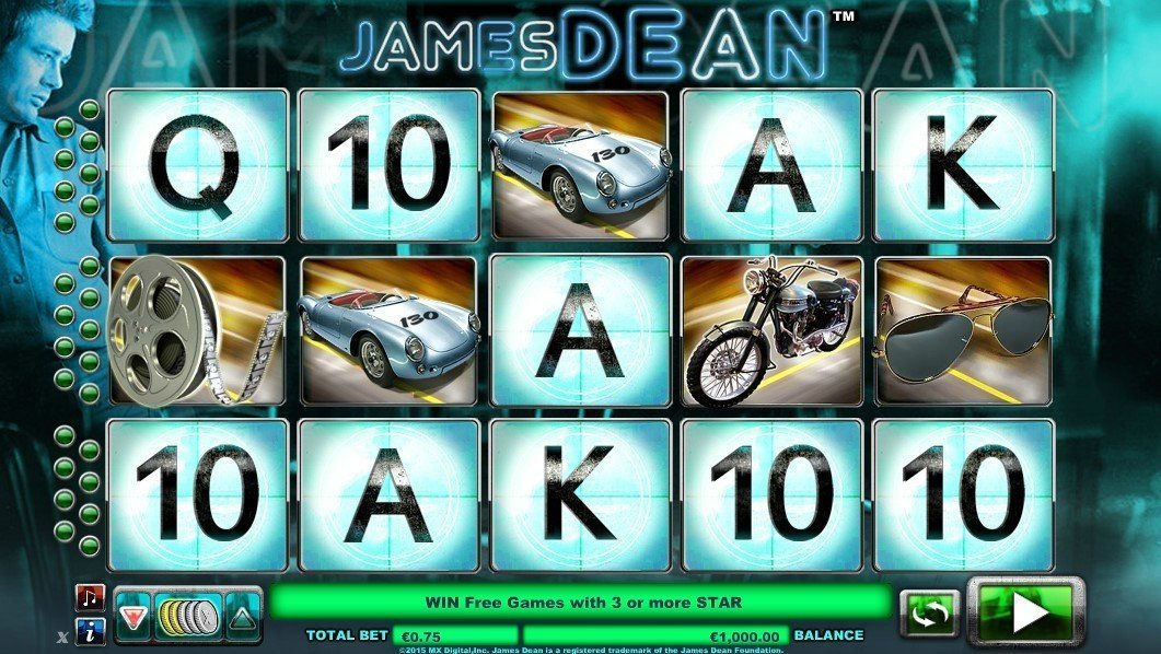 James Dean Pokie