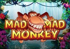 Mad Mad Monkey Pokie Logo