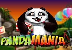 Pandamania Pokie Logo