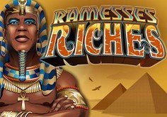 Ramesses Riches Pokie Logo