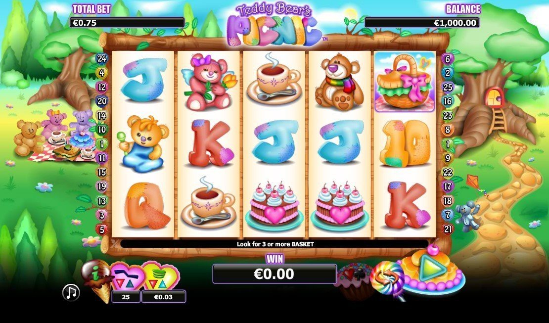 Teddy Bears Picnic Pokie