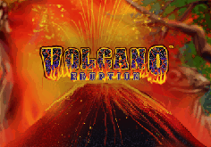 Volcano Eruption Pokie Logo
