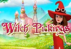 Witch Pickings Pokie Logo