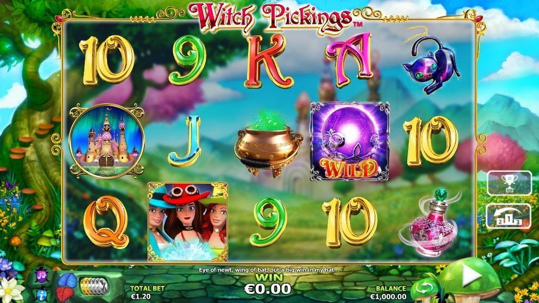 Witch Pickings Pokie
