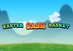 Easter Cash Basket Pokie Logo