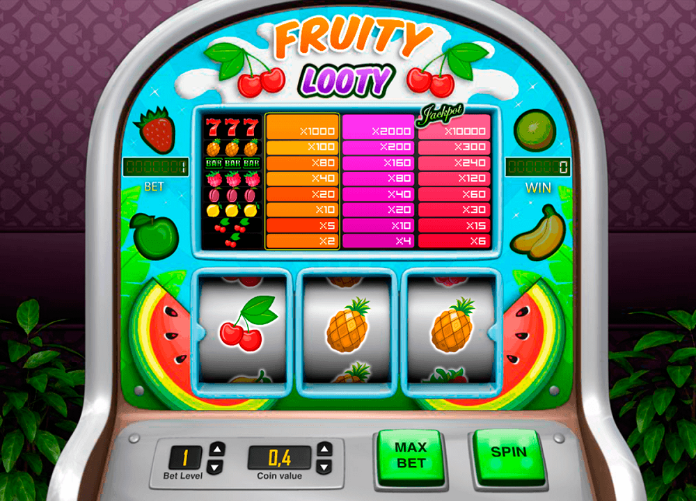 Fruity Looty Pokie
