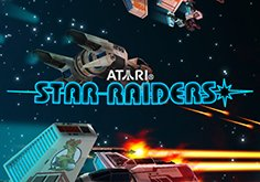 Star Raiders Pokie Logo