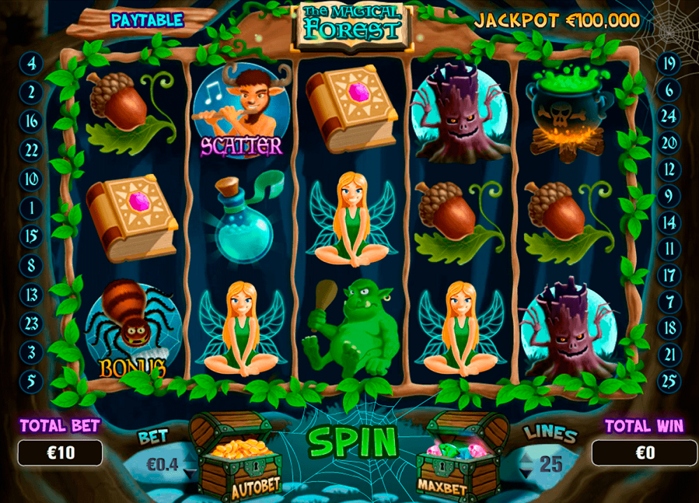 The Magical Forest Pokie