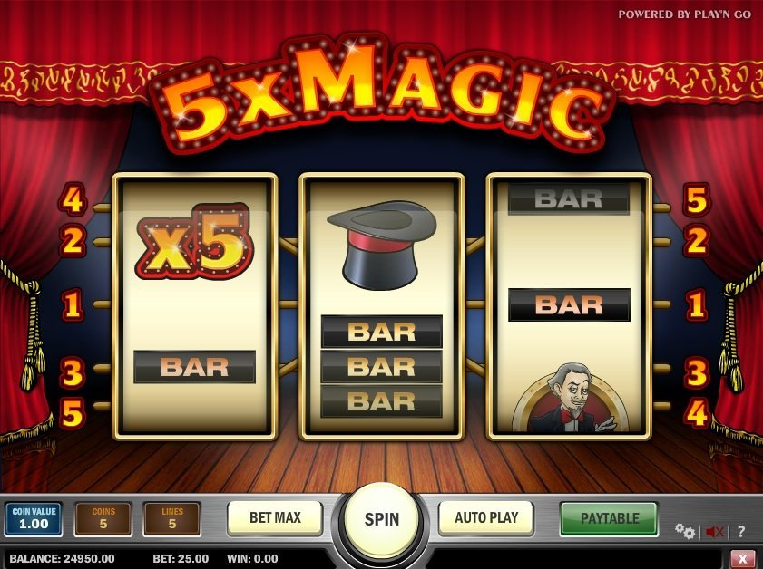 5x Magic Pokie