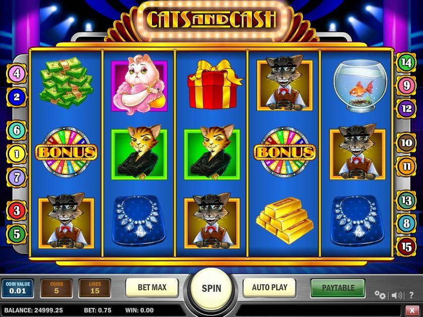 Cats 038 Cash Pokie