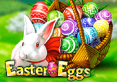 Easter Eggs Pokie Logo